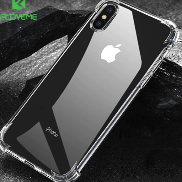 san francisco 39aa8 782f0 iphone X,XS and Max Clear Shockproof Corner Bumper Boutique